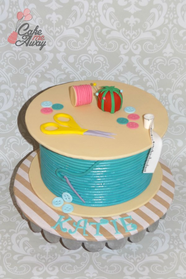 Sewing Thread Cake