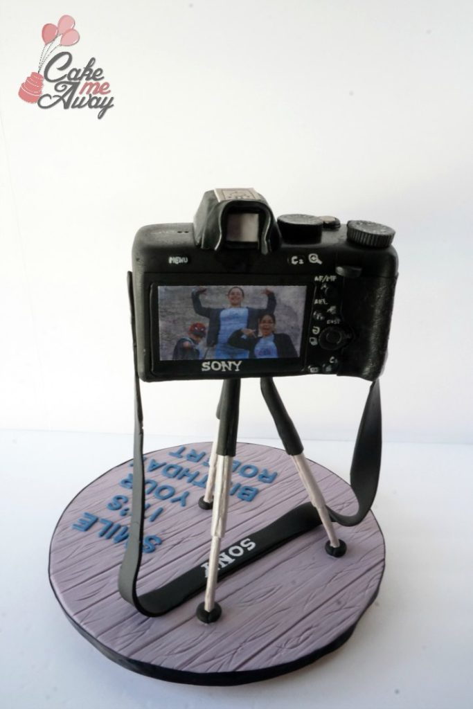 Sony Camera A7 Back Birthday Cake