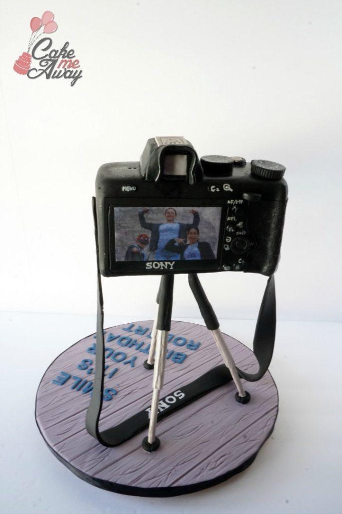 Sony Camera A7 Back Birthday Cake