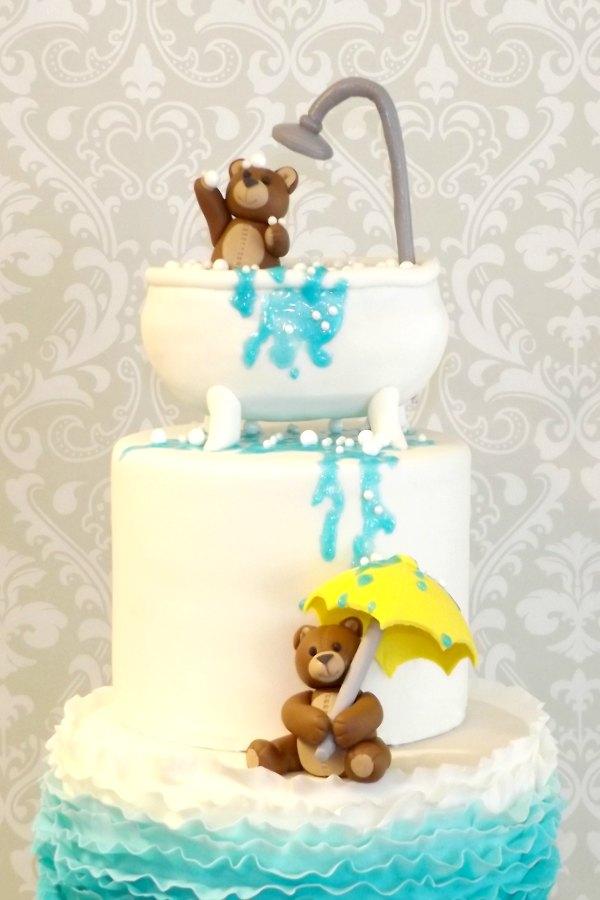 Teddy Bear Baby Shower Cake