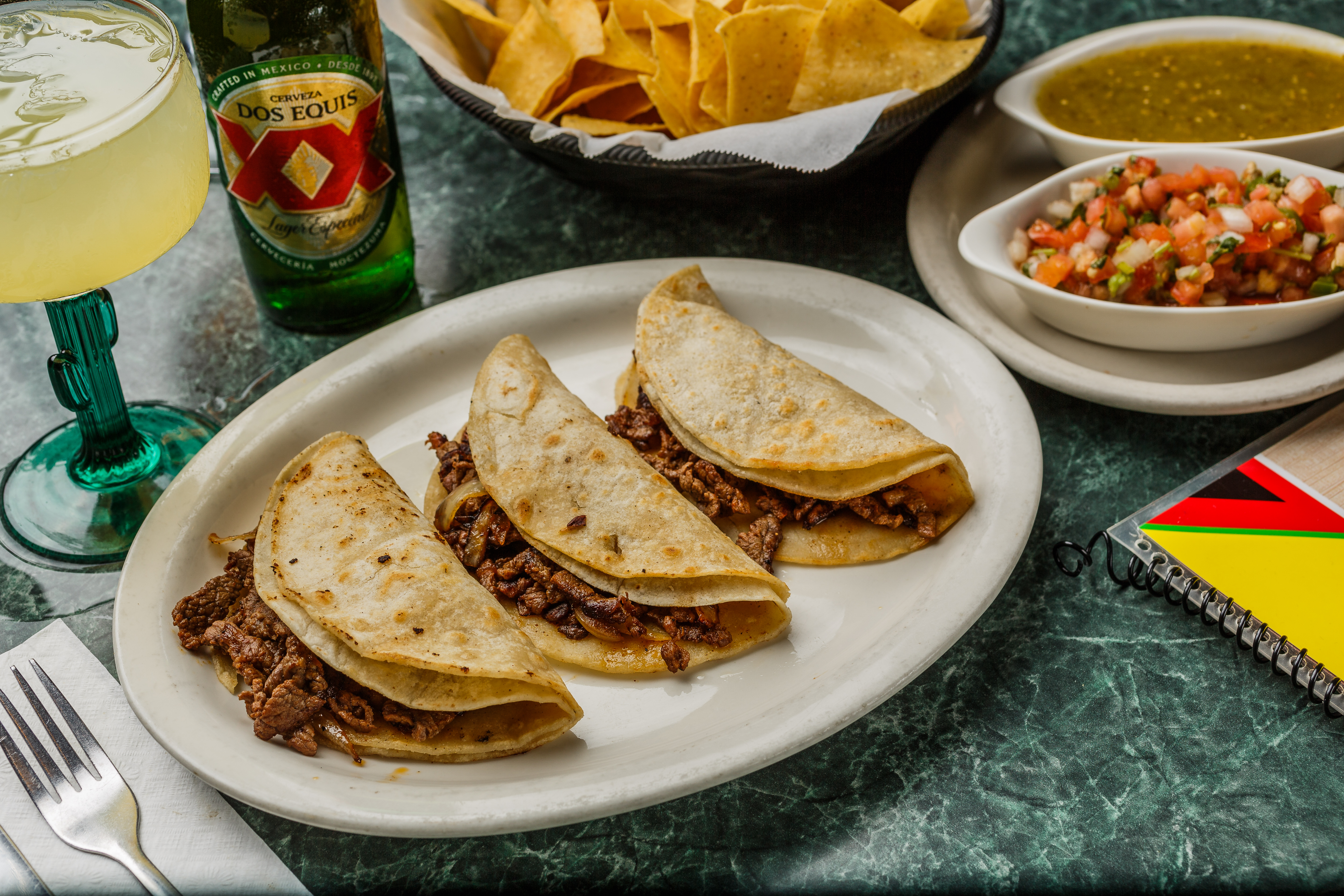 El Sombrero White Cheese Queso Longview Texas Mexican Restaurant Food Taco Fajitas