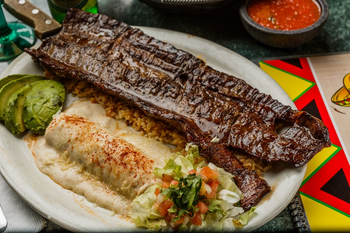 Steak Tejanos Grande El Sombrero Mexican Restaurant Longview Kilgore Texas