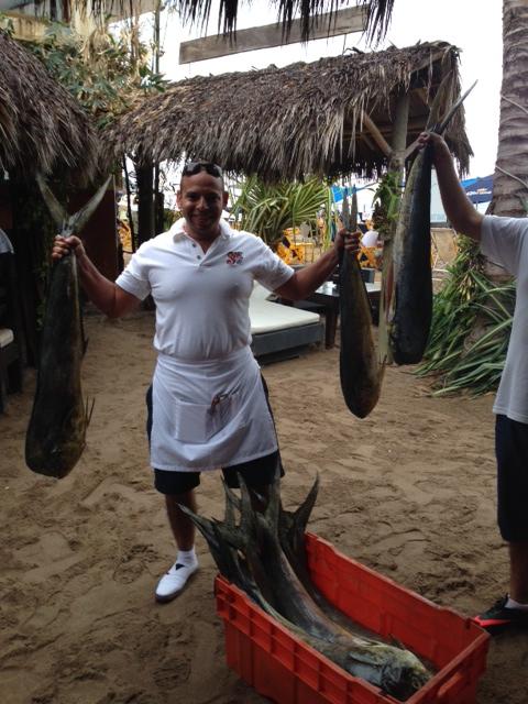 Beach fish
