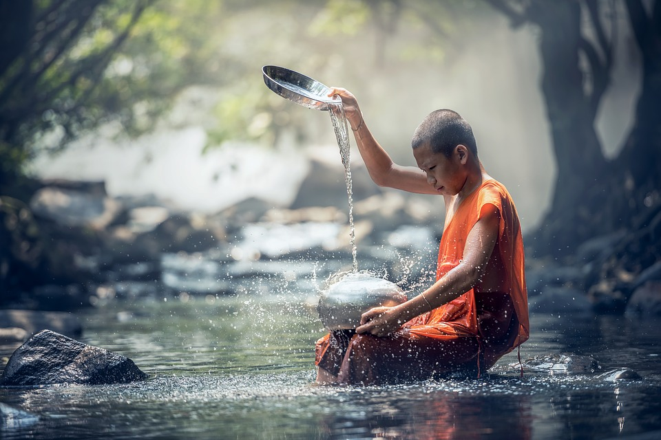 What is the difference between silence and meditation