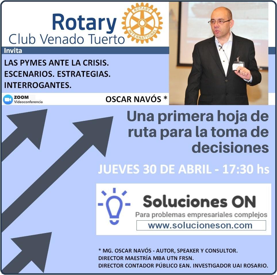 Conferencia Rotary Venado Tuerto