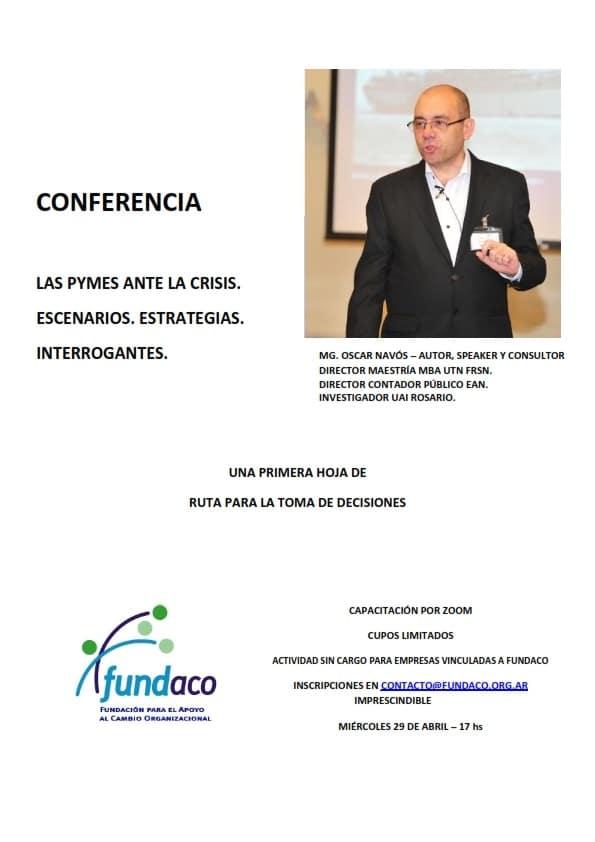 Conferencia online Fundaco