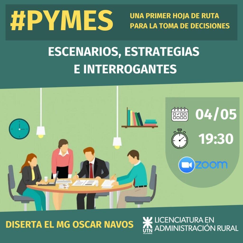 Conferencia online UTN Villa María