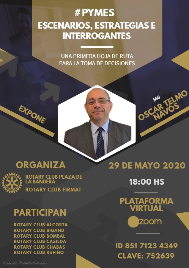 Charla para PYMES en Rotary Club Plaza de la Bandera