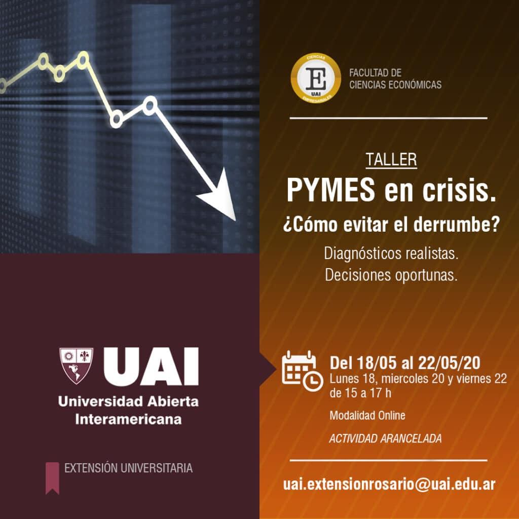 Charla Pymes en crisis en UAI