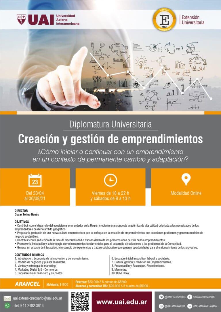Creación y gestión de emprendimientos