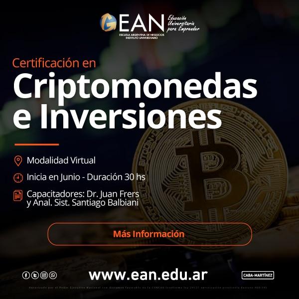 Criptomonedas e inversiones
