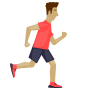 Kid running icon