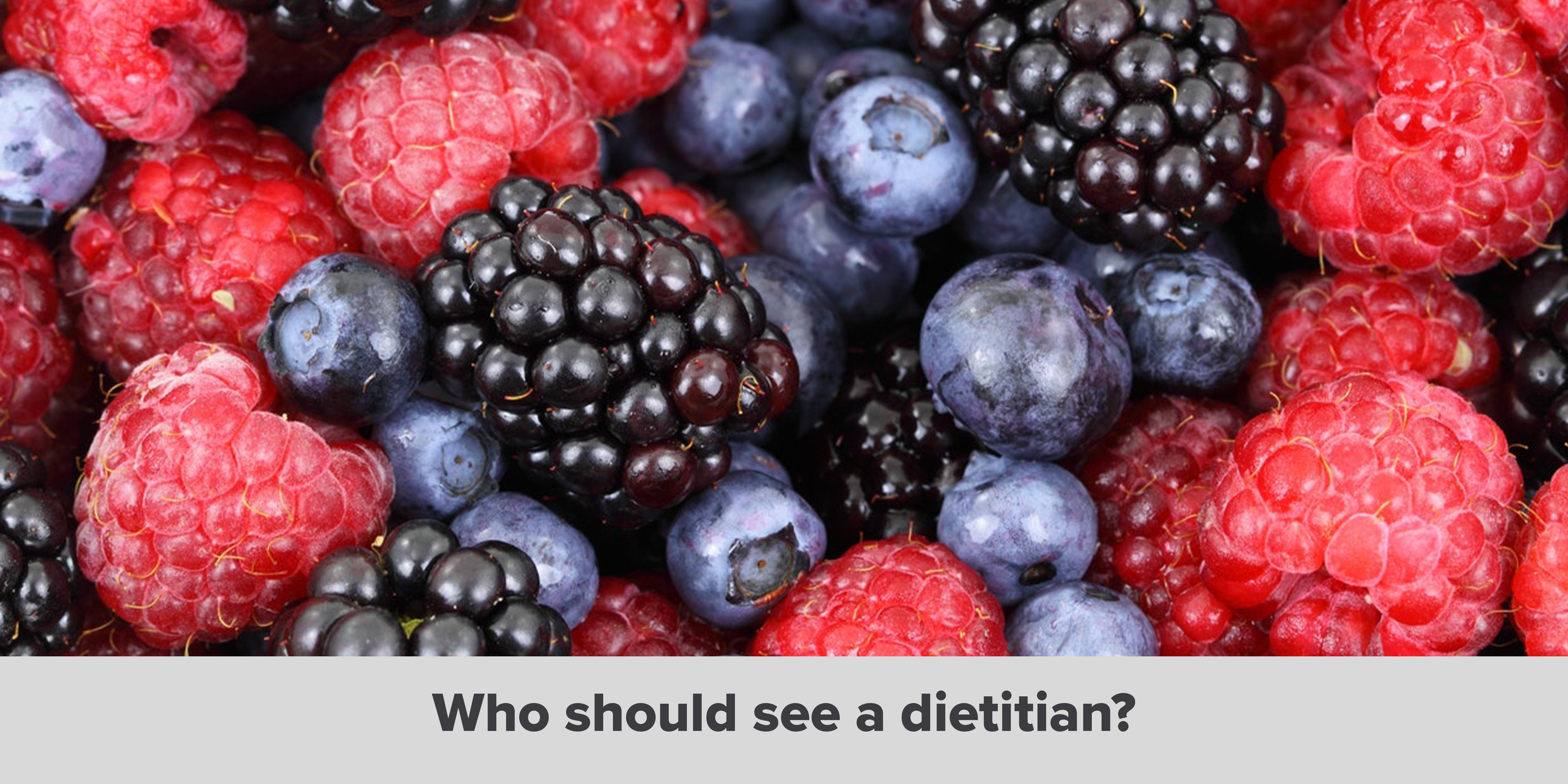 Who should see a dietitian