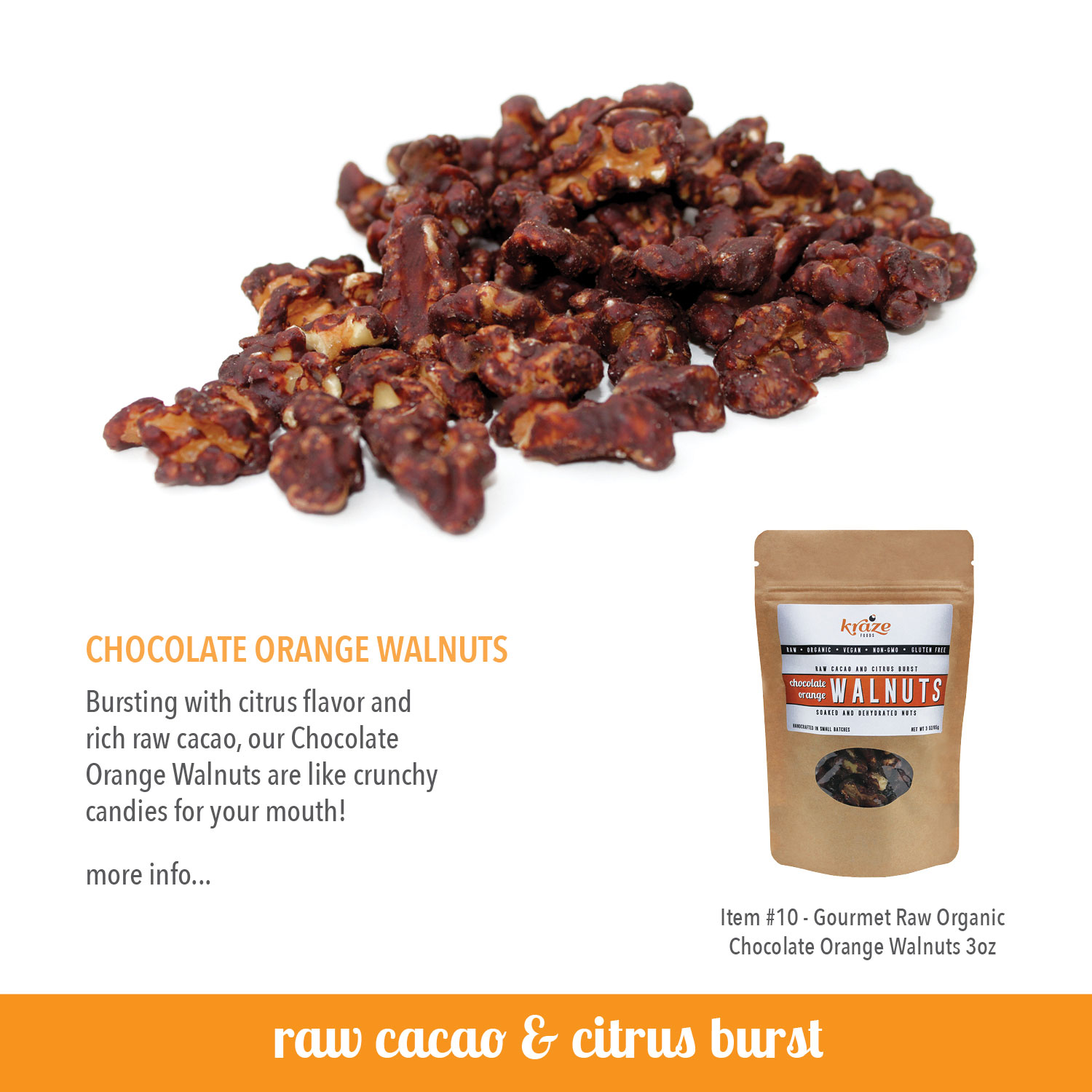 Kraze Foods Raw Flavored Nuts Buy Now!