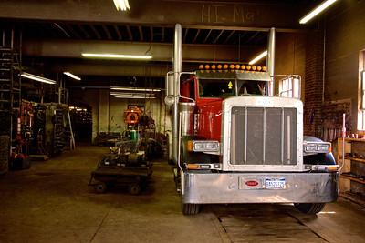 Uniontown Auto Spring has big bays, Uniontown Auto Spring, Light and Heavy Duty Suspension, Unit4media, Uniontown, Automotive, West Virginia, Heavy Duty Truck Repair