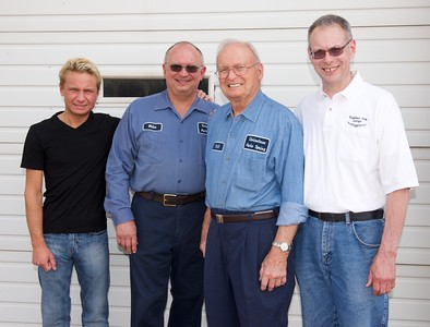 Four Generations of Owners for Uniontown Auto Spring
