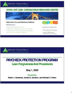 Icon of Paycheck Protection Program - Forgiveness & Procedures (Slides)
