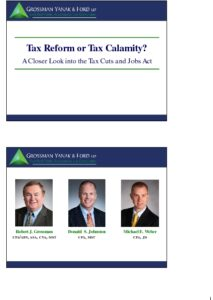 Icon of CLE-Slides Tax Reform - Understanding the TCJA