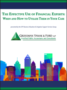 Icon of CLE-Book Effective Use of Financial Experts