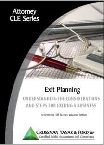 Icon of CLE-Book Exit Planning
