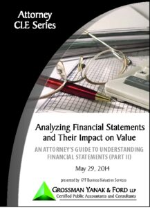 Icon of CLE-Book Financial Statement Impact on Value