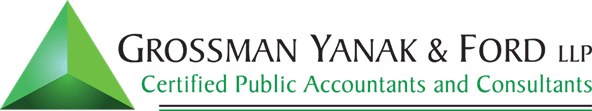 Grossman Yanak & Ford LLP. Pittsburgh PA Accounting Tax and advisory services GYF Logo
