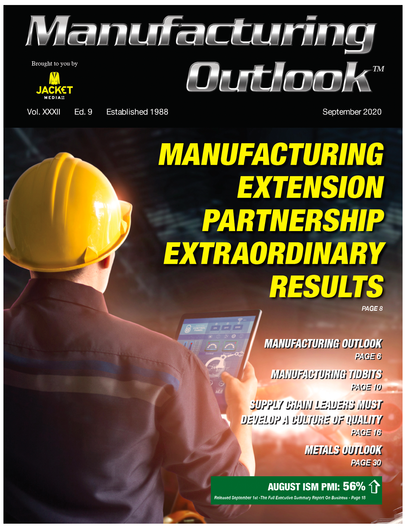 Manufacturing Outlook sept 2020