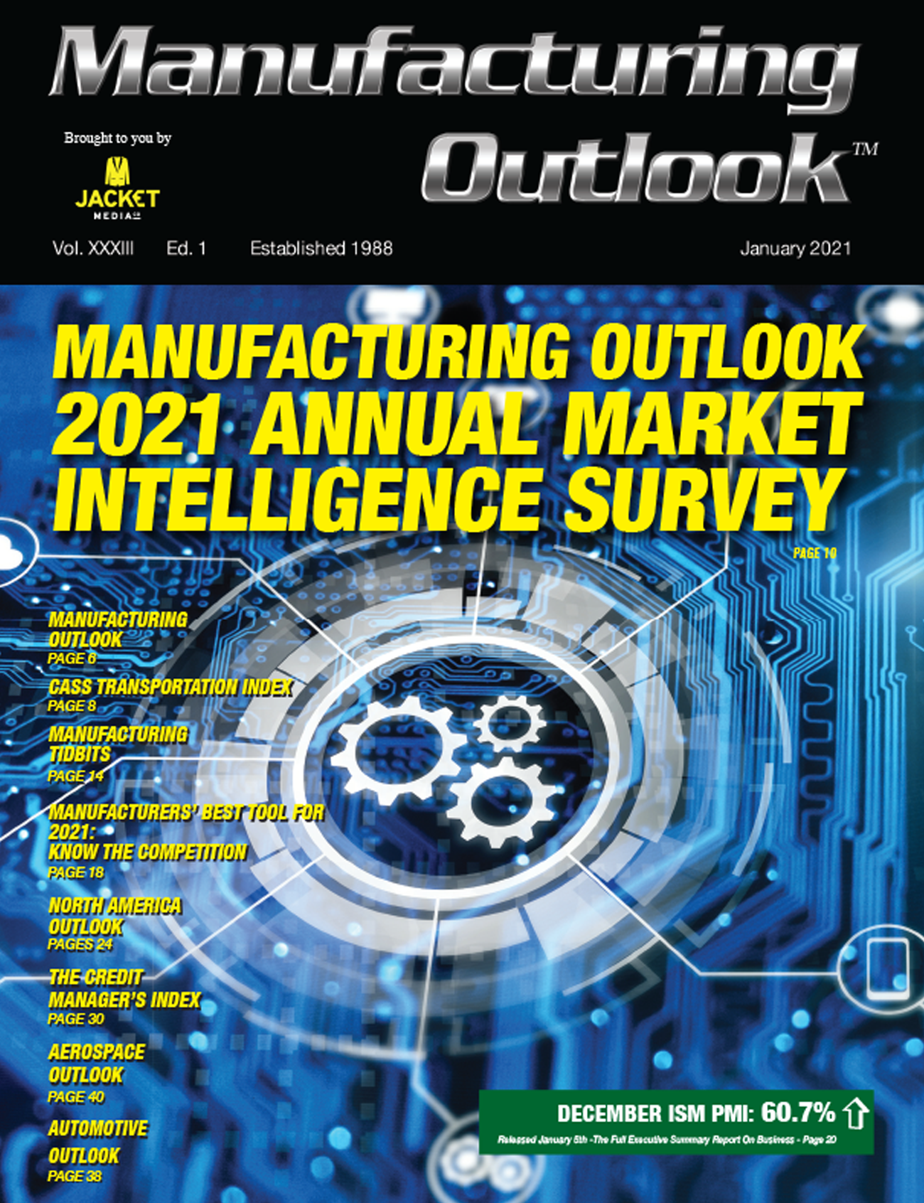 Manufacturing Outlook Jan 2021