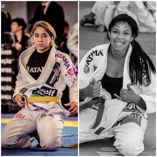 Mayssa Bastos e Paula Nogueira irão disputar o Campeonato Mundial nos EUA. (Crédito da Foto: Flash Sport)