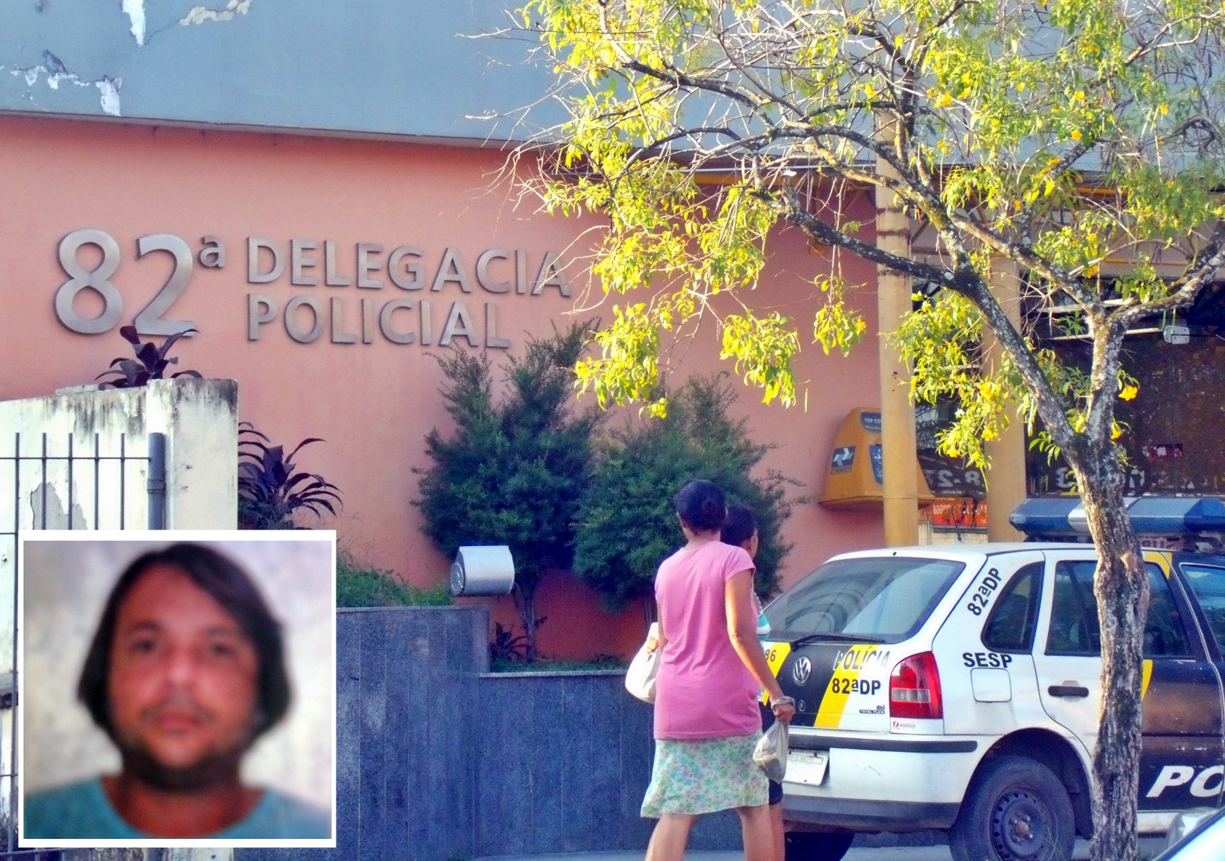 Foi preso pela polícia após furto a posto de gasolina. (Foto: João Henrique | Maricá Info)