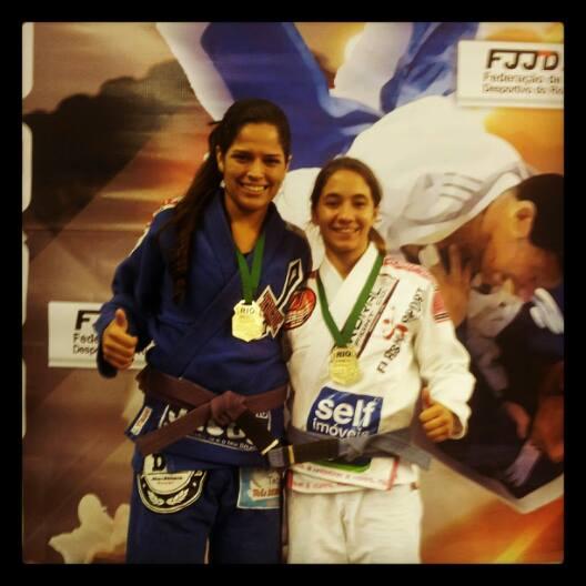 Mariane Nunes e Mayssa Bastos (J.Court/GFTEAM Maricá-RJ).