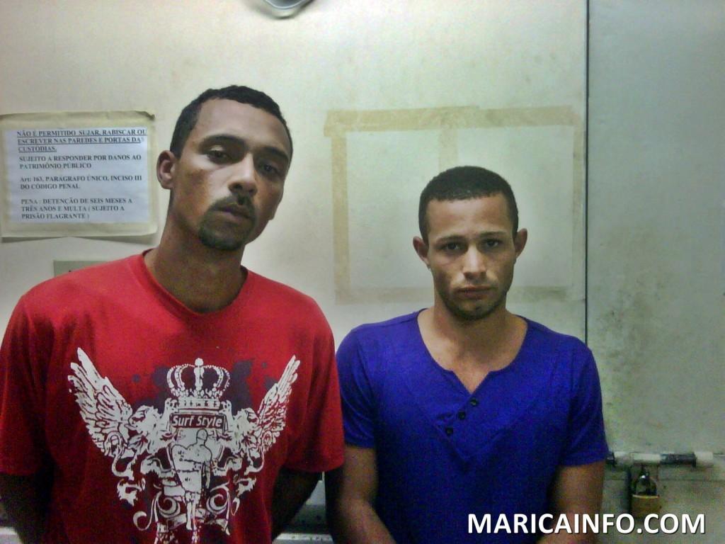 Policiais capturam homens com Maconha e Crack em Ubatiba.