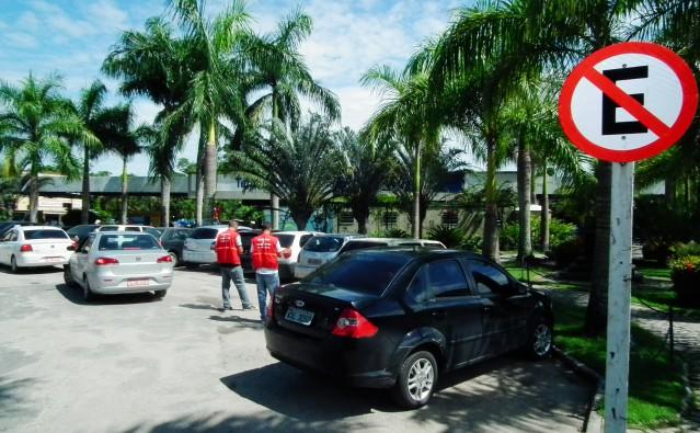 Mudança no trânsito do Centro de Maricá. (Foto: Fernando Silva | PMM)