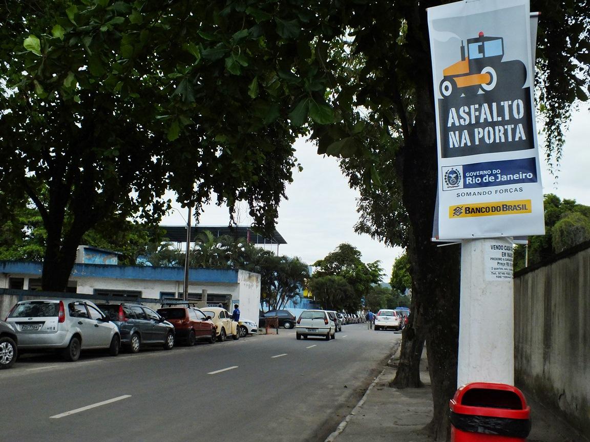 Governo do Estado já asfaltou mais de 20 ruas em Maricá. (Foto: João Henrique | Maricá Info)