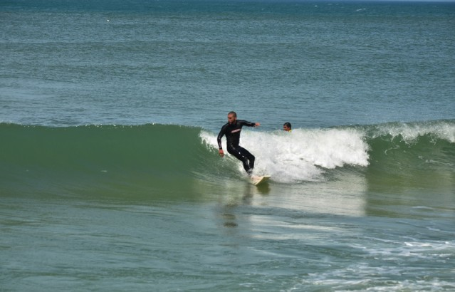 Prática do surf será atrativo turístico para a cidade. (Foto: Paulo Polônio | PMM)