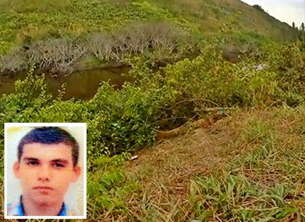 Turista russo pode ter sido morto em outro lugar e jogado às marges do Canal da Costa, em Itaipuaçu. (Foto: Reprodução | InterTV)