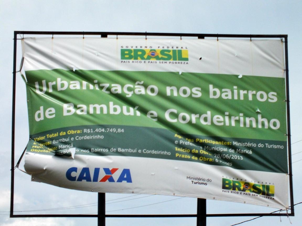Verba é proveniente da Caixa Federal através do Ministério do Turismo. (Foto: João Henrique | Maricá Info)