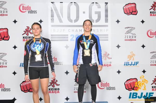 Mayssa Bastos, campeã o campeonato mundial de jiu-jitsu NO-GI. (Foto: Divulgação)