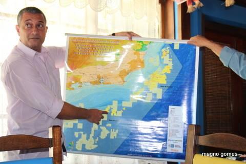 Professor Adilson Pereira falou sobre o potencial de exploração de petróleo na região. (Foto: Magno Gomes)