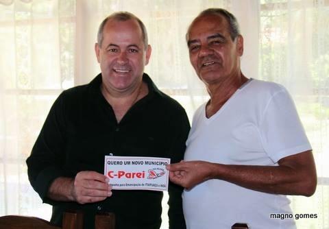 Domingos Brazão (PMBD) se reuniu com moradores insatisfeitos de Itaipuaçu. (Foto: Magno Gomes)