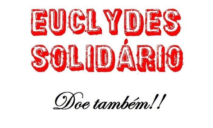 Projeto Euclydes Solidário é realizado por alunos do terceiro ano do ensino médio.