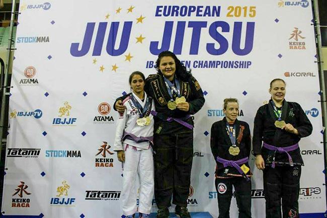 Mayssa Bastos disputou com atletas com o dobro de seu peso e conquistou a medalha de prata do absoluto feminino do Campeonato Europeu realizado em Lisboa, Portugal.