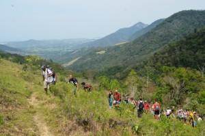 Circuito Ecológico visita o Vale do Espraiado, região de serra, rios e cachoeira em Maricá. (fotos: Clarildo Menezes)