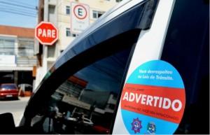 Advertências foram distribuídas durante ações da Secretaria de Segurança. (foto: Fernando Silva / PMM)