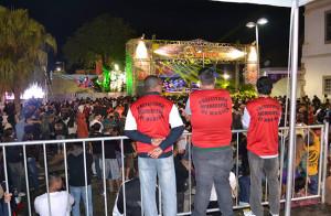 Maricá contratou 240 seguranças particulares para reforçar a segurança nos pontos de festa. (foto: Reprodução)