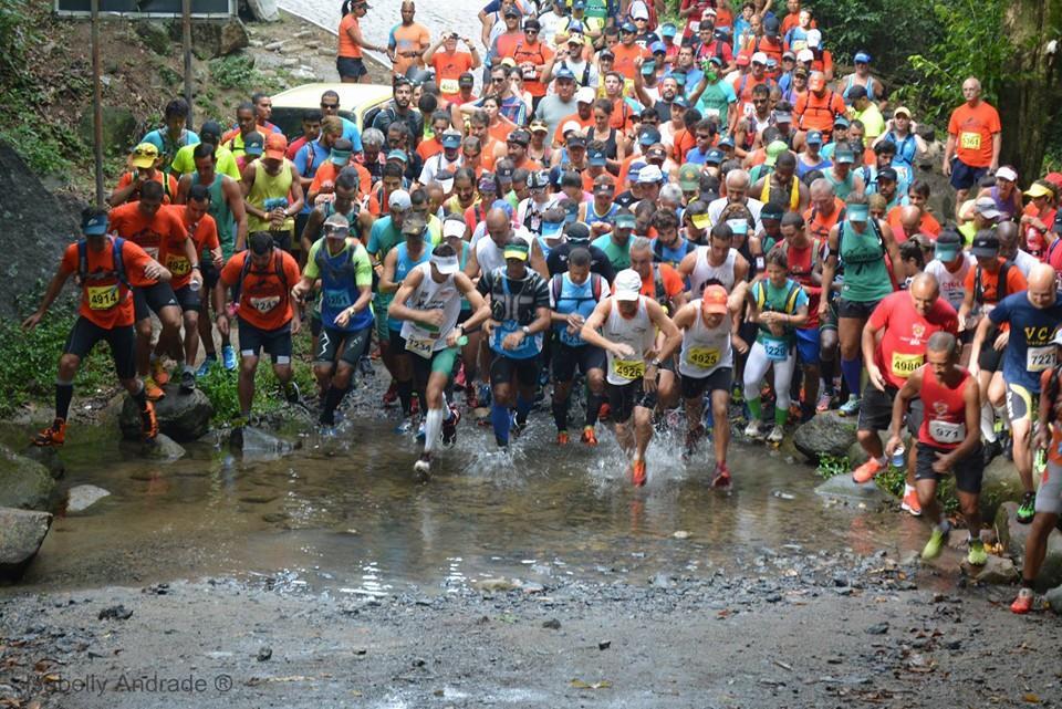 Corridas de Montanha reuniu dezenas de competidores do Rio e de outros estados. (foto: Isabelly Andrade)