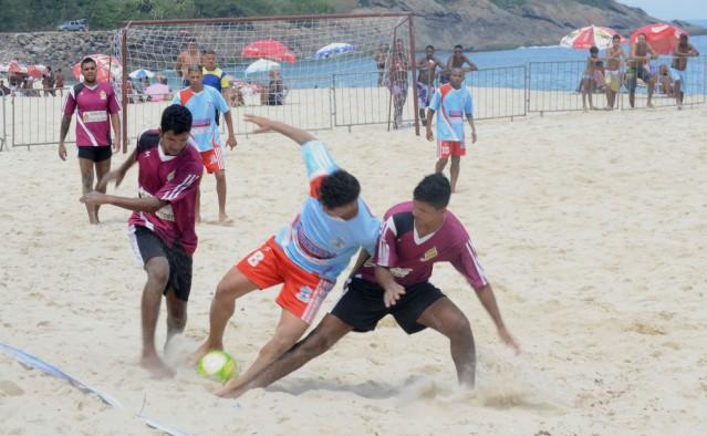 Ao todo, foram sete jogos: três pela categoria masculina e quatro na feminina. (foto: Clarildo Menezes)