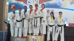Competição foi marcada pela disputa nas categorias de Kata (forma) e Kumite (combate) individual e equipe.