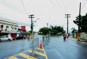 Rotatória da Mumbuca será bloqueada nos dois sentidos e desvio será pela ponte do bairro.
