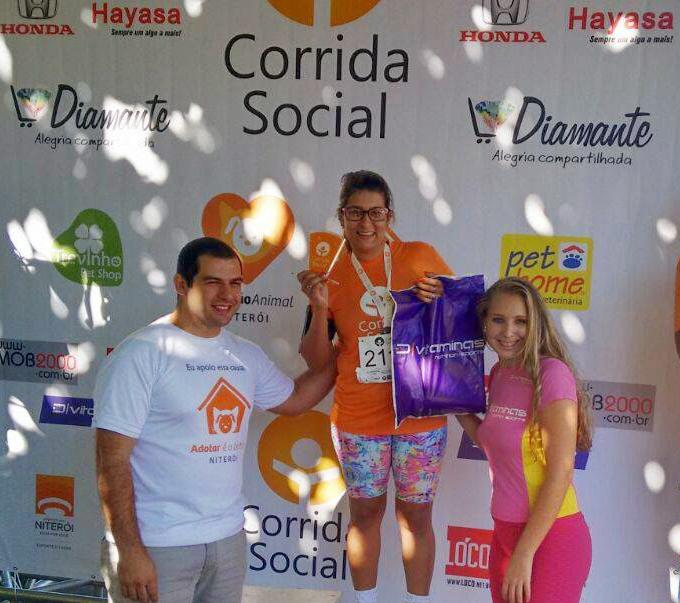 Atletas de Maricá se destacam em Corrida Social disputada em Niterói